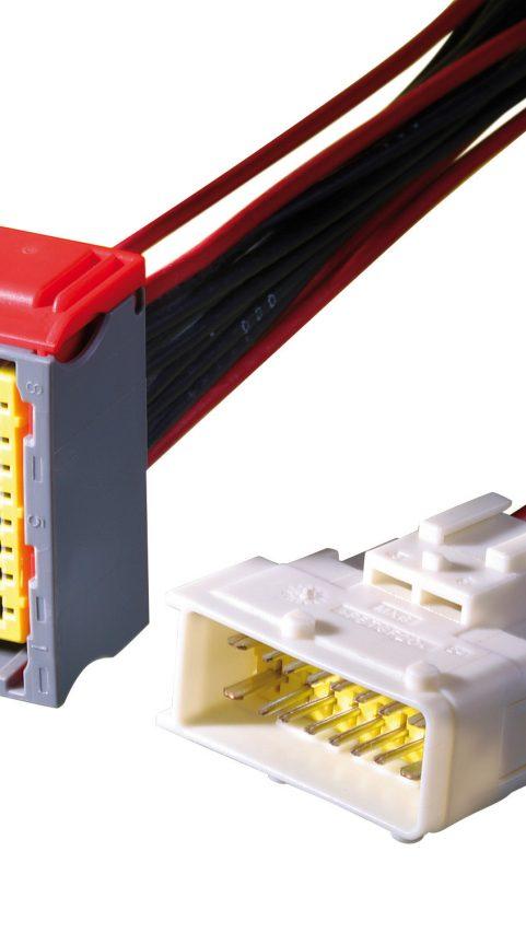 Connector made of Ultradur