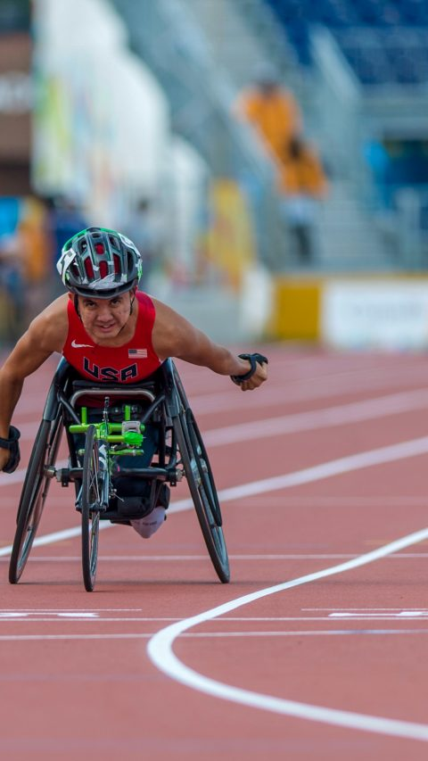 Raymond Martin Wins Gold Medal in Parapan-Toronto
